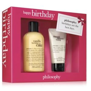 Philosophy birthday set